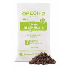 Vrecované hnedé mostecké uhlie orech 2 - paleta 1 040 kg